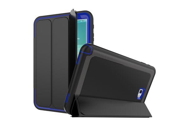 Samsung Galaxy Tab A 10.1 2016 Bumper Case met Smartcover Blauw