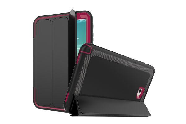 Samsung Galaxy Tab A 10.1 2016 Bumper Case met Smartcover oud Roze