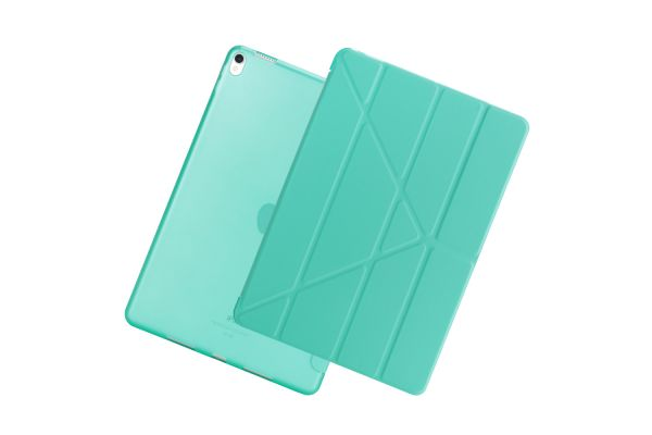 iPad Air 10.5 model 2019 Book Cover Origami Turquoise