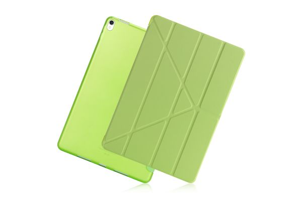iPad Air 10.5 model 2019 Book Cover Origami Groen