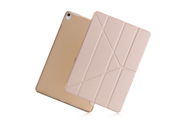 iPad Air 10.5 model 2019 Book Cover Origami Goud