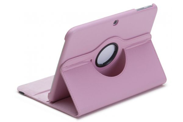 Tablet PU Leer Samsung Tab A 9.7 inch T550 Draaibare Hoes roze