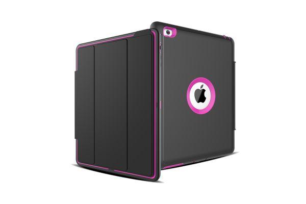 iPad 2-3-4 Bumper Case met Smartcover oud Roze