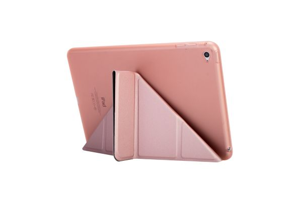 Book Cover Origami iPad Mini 4 Rose Goud