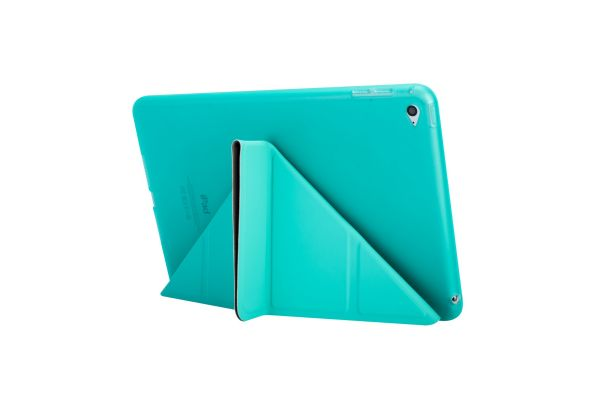iPad Mini 1-2-3 Book Cover Origami mintGroen