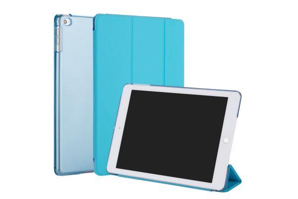 iPad Air 2 Hard Tri-Fold Book Cover Blauw
