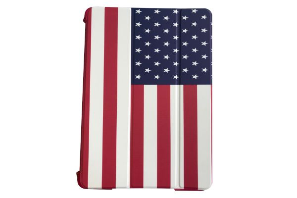 iPad 2018 9.7 inch Hard Back Book Cover print Amerikaanse vlag