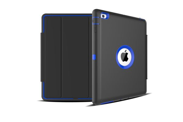 iPad 2-3-4 heavy duty survivor smartcase blauw