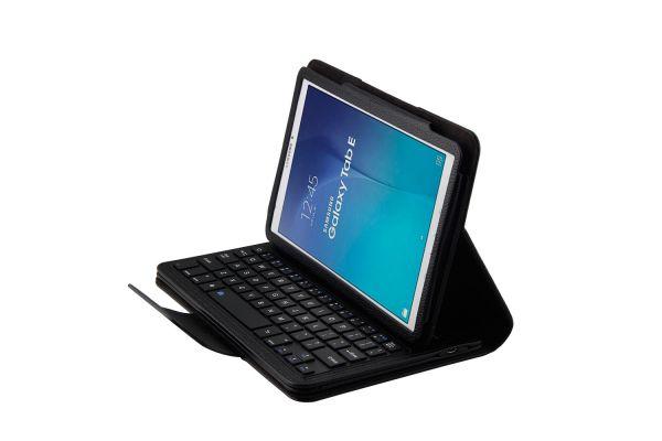 Samsung Tab e 9.6 hoes met toetsenbord zwart T560 T561