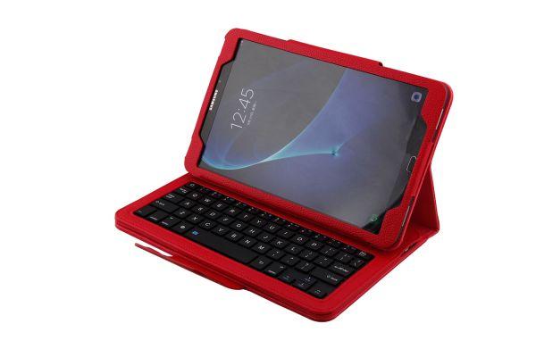 Samsung Tab A 10.1 hoes met toetsenbord rood T580 T585