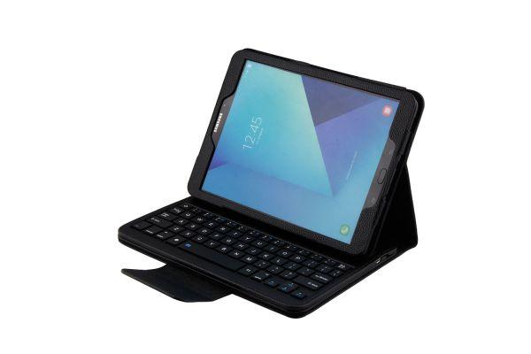 Samsung tab S3 9.7 hoes met toetsenbord Zwart