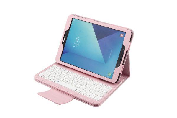 Samsung tab S3 9.7 hoes met toetsenbord Roze