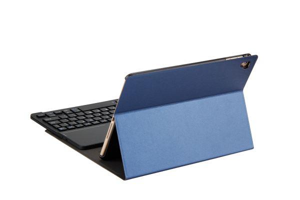 iPad Air hoes met toetsenbord ultra slim deluxe blauw