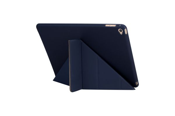 iPad Air 2 Book Cover Origami donker Blauw