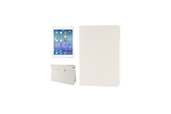 iPad 2018 9.7 inch Book Cover PU leer Wit
