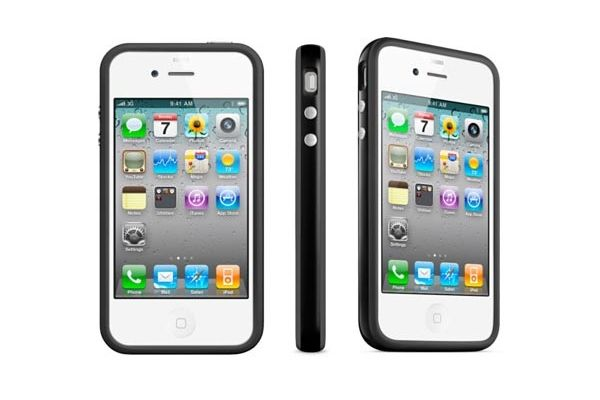 iPhone 4 en 4S  Bumper Zwart