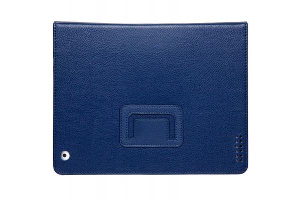 iPad Mini 1-2-3 PU Leren Book Cover Donkerblauw / Navy