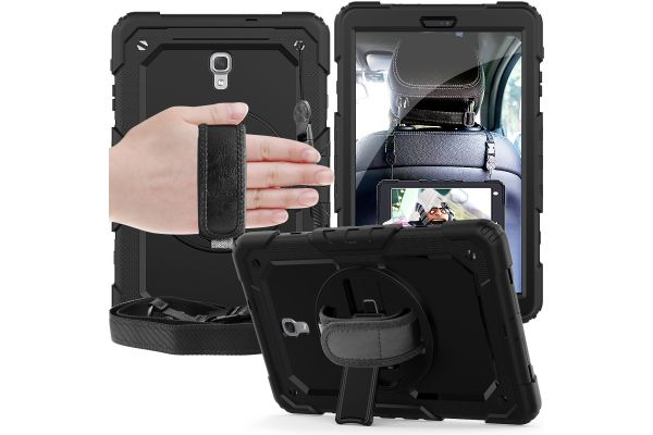 Samsung Tab A 10.5 draaibare Bumper Case zwart