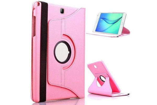 Samsung hoes Tab S2 (9.7) Draaibare Hoes Roze