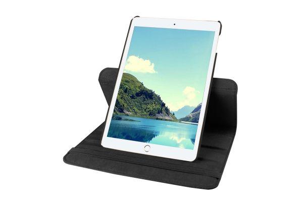 iPad Mini 4 Leren Draaibare Hoes Zwart