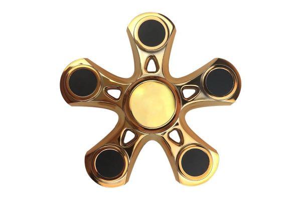 Fidget Spinner 5 arm spinner aluminum B