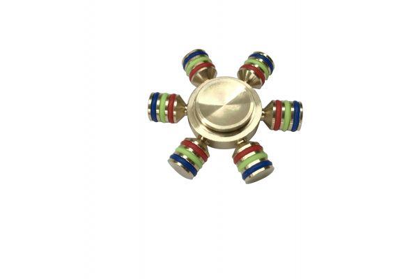 Fidget Spinner 6 arm spinner staal  een van de beste en sterkste die te verkrijgen is!! N