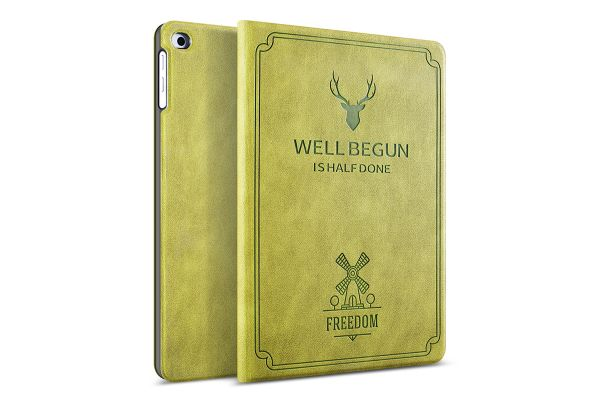iPad 2018 9.7 inch Design hoes Groen FREEDOM