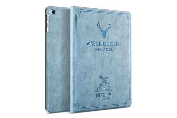 iPad Air 2 design hoes blauw FREEDOM