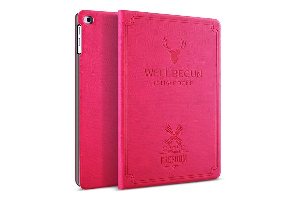 iPad Air 2 design hoes fuchsia FREEDOM