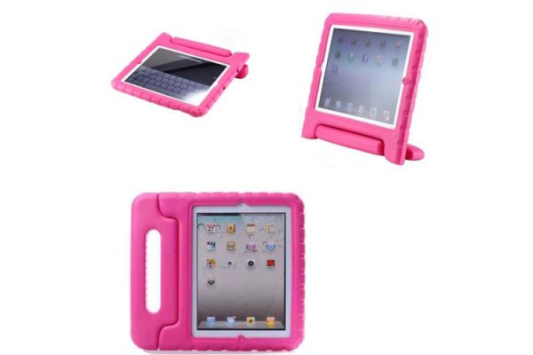 Kinderhoes iPad 2-3-4 Roze