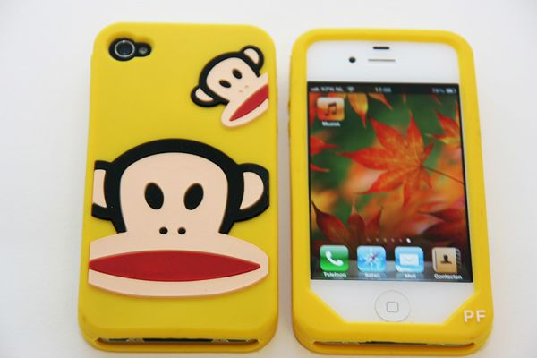 iPhone 4 | 4S Hoesje Paul Frank Geel