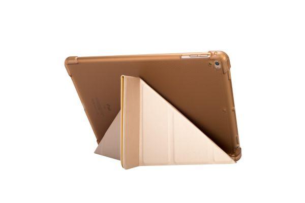 iPad Air 2 Book Cover Origami Heavy Duty TPU Goud