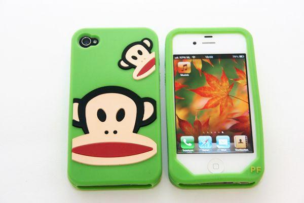iPhone 4 | 4S Hoesje Paul Frank Groen