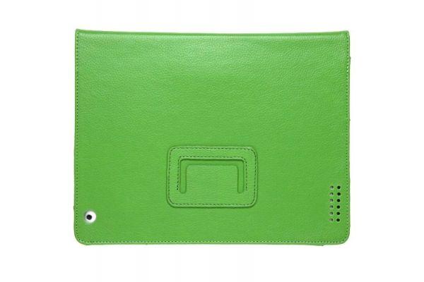 iPad Mini 1-2-3 PU Leren Book Cover Groen