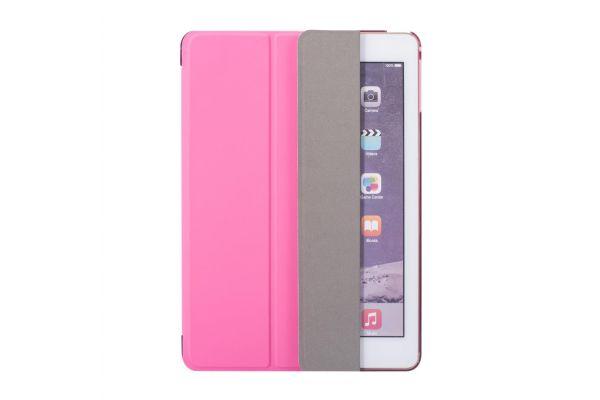 iPad 2018 9.7 inch Hard Back Book Cover fuchsia