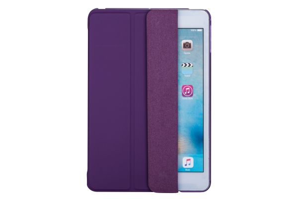 iPad Mini 4 Hard Back Book Cover paars
