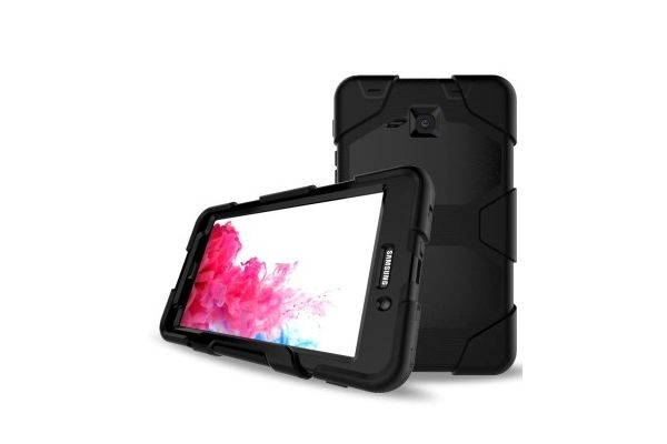 Samsung Tab A 7.0 (A6) heavy duty survivor case zwart T280 - T285