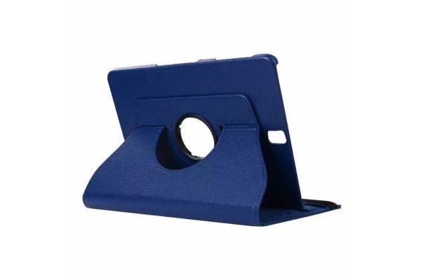 Tablet PU Leer Samsung Tab S3 (9.7) T820 T825 Draaibare Hoes Blauw