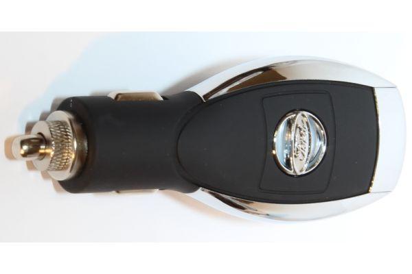 iPhone-iPad USB Autolader- Adapter voor het merk Ford Zwart