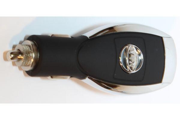 iPhone - iPad USB Autolader- Adapter voor het merk Kia Zwart
