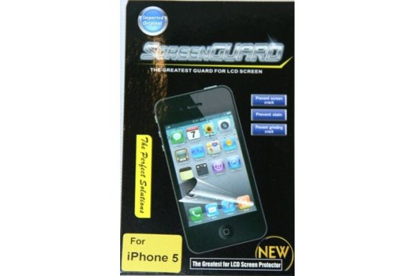 iPhone 5/5S Screen Protector Anti Reflectie