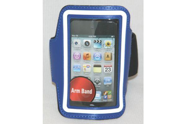 Sportarmband voor de iPhone 3GS/4/4S Leer Blauw