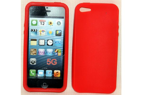 iPhone 5 | 5S Hoesje Siliconen Rood