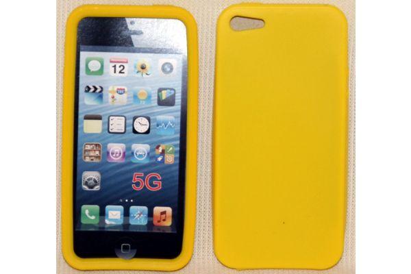 iPhone 5 | 5S Hoesje Siliconen Geel