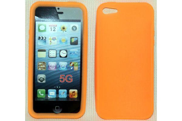 iPhone 5 | 5S Hoesje Siliconen Oranje