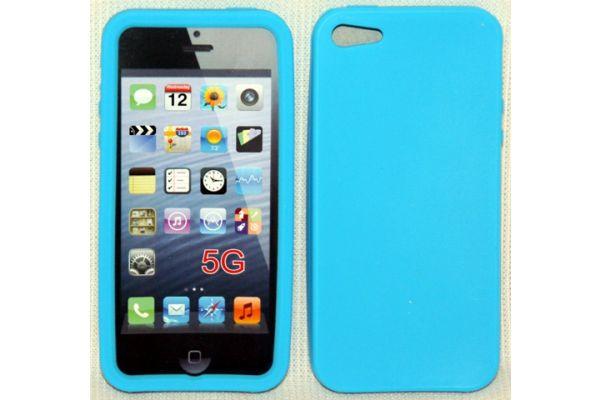 iPhone 5 | 5S Hoesje Siliconen Blauw