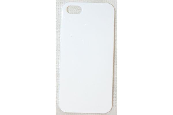 iPhone 5   5S Hoesje hard case Glanzend Wit