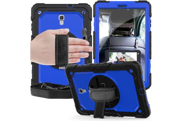Samsung Tab A 10.5 draaibare Bumper Case blauw