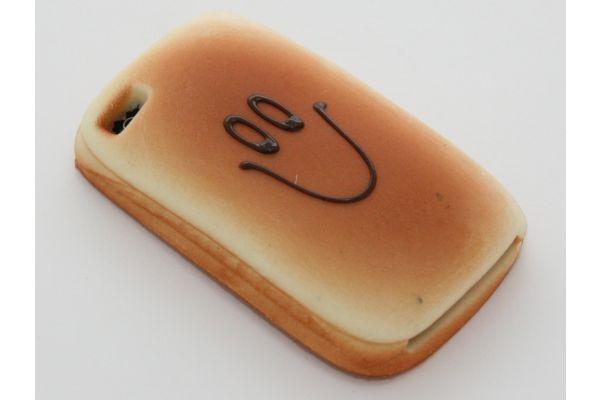 iPhone 5   5S Hoesje Boterham Smiley