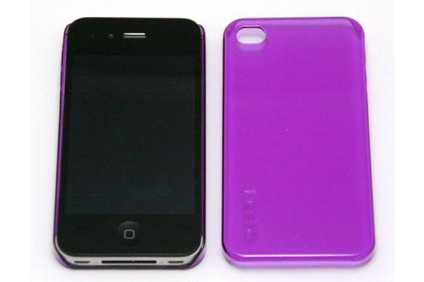 Gear Hard Case voor iPhone 4  Zacht Lila- Paars